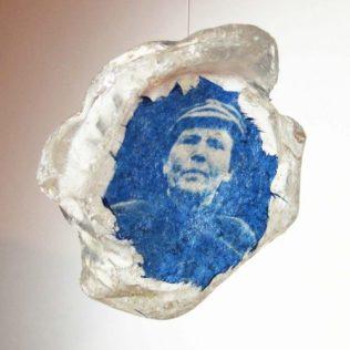 Fisherwoman; Found Sea Glass