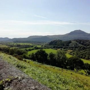 Context view Garreghylldrem peninsula